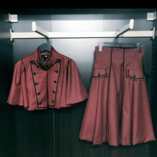 アリスアンドザパイレーツ(ALICE and the PIRATES)のシェグリット、オルレアンシリーズのケープとスカート(ひざ丈スカート)
