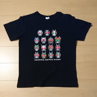 シマムラ(しまむら)の平成プレミアムTシャツ 仮面ライダー L ブラック しまむら(Tシャツ/カットソー(半袖/袖なし))