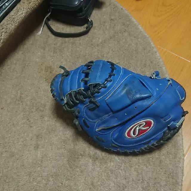 ローリングス軟式用キャッチャーミット スポーツ/アウトドアの野球(グローブ)の商品写真