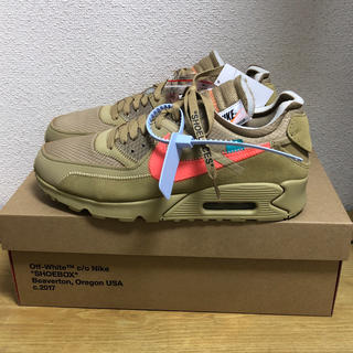 ナイキ(NIKE)のNIKE THE TEN AIR MAX 90 off-white ベージュ(スニーカー)