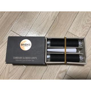 ブルックス(Brooks)のBROOKS CAMBIUM SLENDER GRIPS130mm(black)(パーツ)