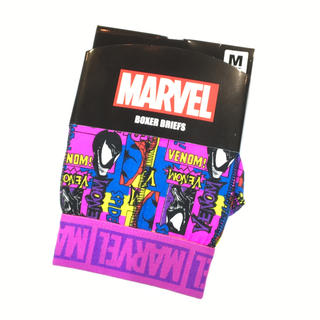 マーベル(MARVEL)の【新品】 〈マーベル〉ヴェノム&スパイダーマン ボクサーパンツ M 【送料込み】(ボクサーパンツ)