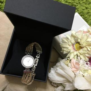 フォクシー(FOXEY)のフォクシー❤︎レディジュエルウォッチ ブレスレット腕時計(ブレスレット/バングル)