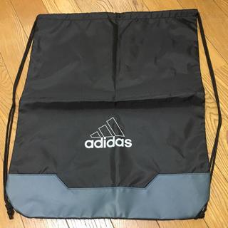 アディダス(adidas)のアディダス adidas リュック ブラック黒xグレーxホワイト白 新品(バッグパック/リュック)