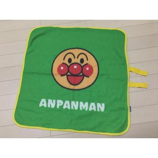 アンパンマン(アンパンマン)のアンパンマン 緑色 ミニブランケット(おくるみ/ブランケット)
