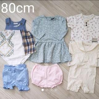 ビケット(Biquette)の春~夏服 女の子 80cm まとめ売り(Tシャツ)