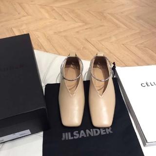 ジルサンダー(Jil Sander)の新品未使用 Jil Sander ジルサンダー フラットシューズ 36(ローファー/革靴)