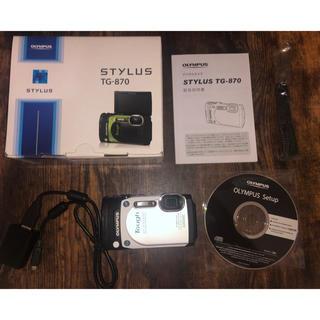 オリンパス(OLYMPUS)のOLYMPUS TG-870[付属品付](コンパクトデジタルカメラ)