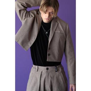 エイトセカンズ(8seconds)のESC STUDIO crop jacket(テーラードジャケット)