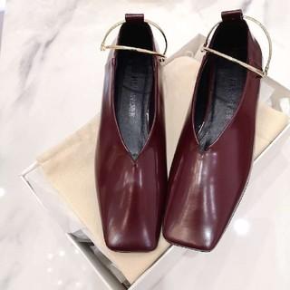 ジルサンダー(Jil Sander)のJil Sander ジルサンダー フラットシューズ(ローファー/革靴)