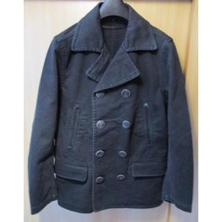 ロンハーマン(Ron Herman)のロンハーマン RonHarman ウールコート Sサイズ ブラック Pコート(ピーコート)