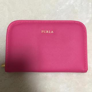 フルラ(Furla)の新品 未使用品 フルラ  FURLA 母子手帳ケース パスポートケース ピンク(母子手帳ケース)