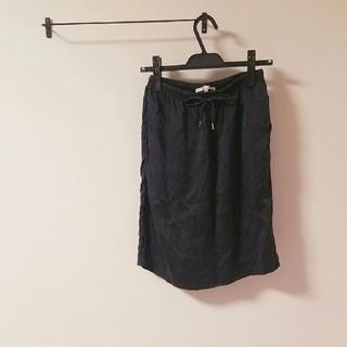 グーコミューン(GOUT COMMUN)のグーコミューン 美品 スカート とろみ(ひざ丈スカート)