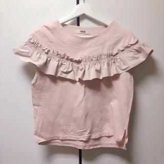 ファーファー(fur fur)のFURFUR フリルTシャツ(Tシャツ(半袖/袖なし))