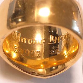 クロムハーツ(Chrome Hearts)のクロムハーツ 22k キーパーリング 極美品 19号【中古】(リング(指輪))
