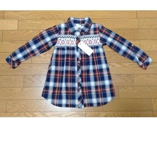 chocol raffine robe kids ネルシャツ