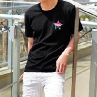 レディー(Rady)の【ぺこちゃん様専用】Rady ワッペン メンズ ニット Tシャツ(Tシャツ/カットソー(半袖/袖なし))
