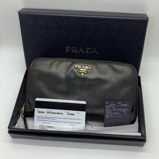 e3b89115a9da プラダ(PRADA)の確実正規品 PRADA 長財布 レディース サフィアーノ 財布 ラウンド(