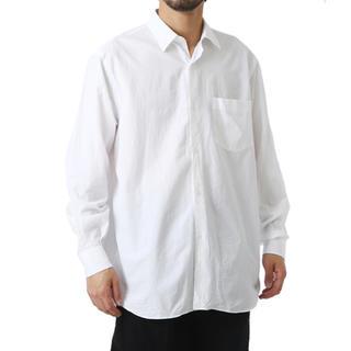 コモリ(COMOLI)のCOMOLI コモリ シャツ 白 ホワイト サイズ2 2019 新作 新品(シャツ)