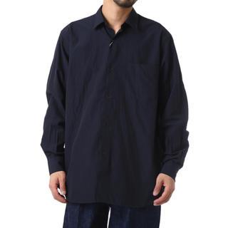 コモリ(COMOLI)のCOMOLI コモリ シャツ 紺 ネイビー サイズ2 2019 新作 新品(シャツ)