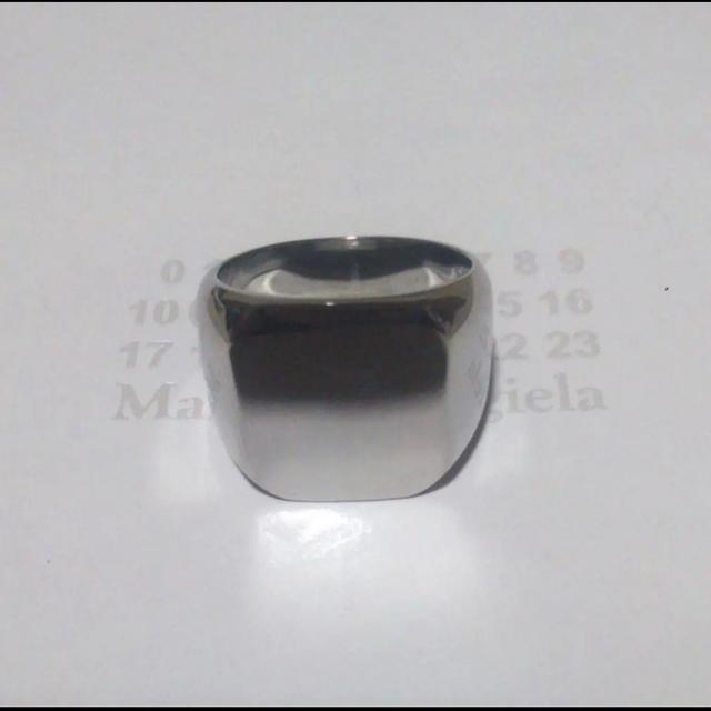 Maison Martin Margiela(マルタンマルジェラ)のスクエアリングUS9 レディースのアクセサリー(リング(指輪))の商品写真