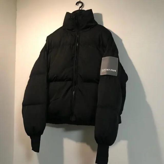 ZARA(ザラ)のダウンジャケット Cシェイプ 韓国 防弾少年団 BTS パフジャケット メンズのジャケット/アウター(ダウンジャケット)の商品写真