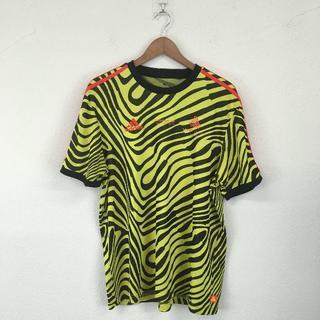 アディダス(adidas)の アディダス adidas メンズ CLIMALITE Tシャツ イエロー L(Tシャツ/カットソー(半袖/袖なし))