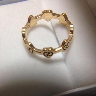 グッチ(Gucci)のk18グッチリング(リング(指輪))
