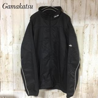 ガマカツ(がまかつ)のガマカツ GAMAKATSU ナイロンジャケット ウインドブレーカー サイズL(ウエア)