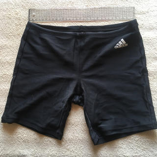 アディダス(adidas)の水着 スクール水着 男子 ボーイズ 160 黒 ブラック アディダス(水着)