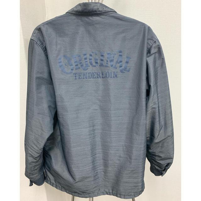 TENDERLOIN(テンダーロイン)のテンダーロイン コーチジャケット サイズXS グレー 美品 メンズのジャケット/アウター(ナイロンジャケット)の商品写真