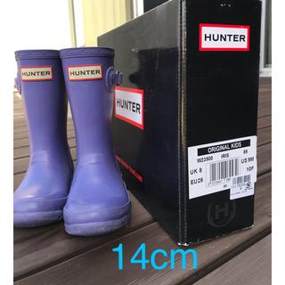 ハンター(HUNTER)のハンター長靴 14cm(長靴/レインシューズ)