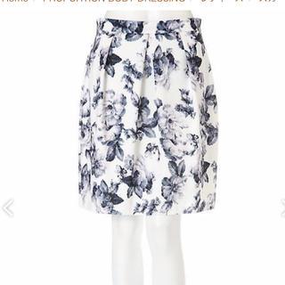 プロポーションボディドレッシング(PROPORTION BODY DRESSING)のエデュットコロン ♡ スプリングフラワータイトフレアスカート(ミニスカート)