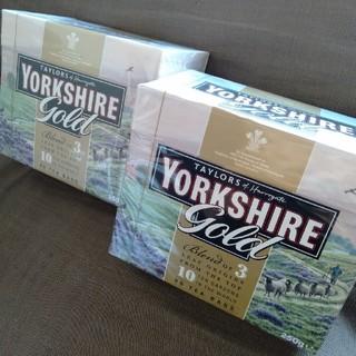 【未開封】 ヨークシャーティー ゴールド 2箱 ミルクティー 紅茶 イギリス (茶)