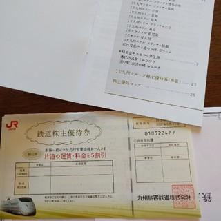 JR九州株主優待(鉄道乗車券)