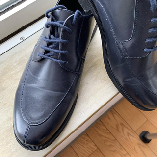 Navy / U-chip shoes