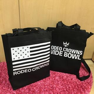 ロデオクラウンズワイドボウル(RODEO CROWNS WIDE BOWL)のRODEO CROWNS ショッパー(ショップ袋)
