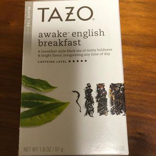 スターバックスコーヒー(Starbucks Coffee)の【新品・未開封】TAZO tea  (茶)