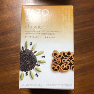 スターバックスコーヒー(Starbucks Coffee)の【新品・未開封】TAZO tea  Chai(茶)