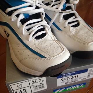 ヨネックス(YONEX)のヨネックス テニスシューズ SHT-201  24.0cm(シューズ)
