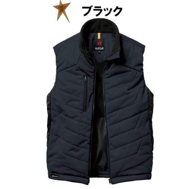 BURTLE(バートル)の美品☆バートル☆作業着☆防寒ベスト メンズのジャケット/アウター(その他)の商品写真