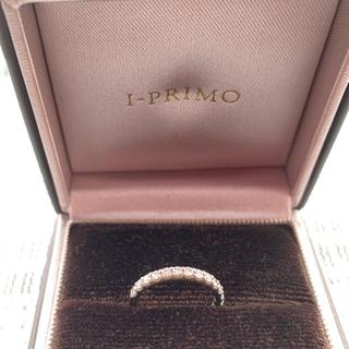 I-PRIMO(アイプリモ)プラチナ×ダイヤ ハーフエタニティリング 4号(リング(指輪))