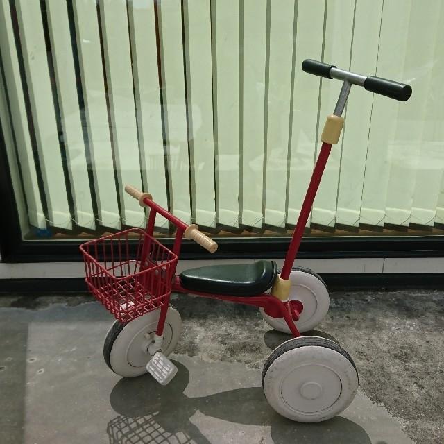 MUJI (無印良品)(ムジルシリョウヒン)の無印 三輪車 キッズ/ベビー/マタニティの外出/移動用品(三輪車)の商品写真