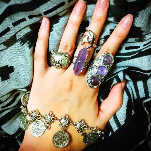 ベキ桜様専用ページ(^ν^) レディースのアクセサリー(リング(指輪))の商品写真