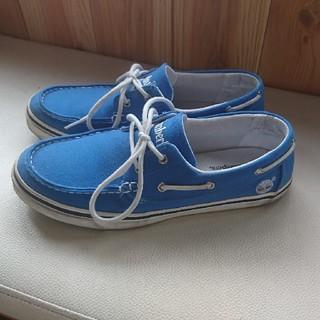 Timberland - ティンバーランド Timberland デッキシューズ ブルー 26.5 靴