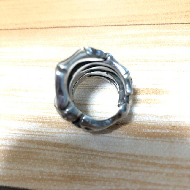 CRAZY PIG(クレイジーピッグ)のcrazy pig クレイジーピッグ ボーンハンド hide born hand メンズのアクセサリー(リング(指輪))の商品写真
