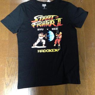 スーパーファミコン(スーパーファミコン)のTシャツ ゲーム ストリートファイター(Tシャツ/カットソー(半袖/袖なし))