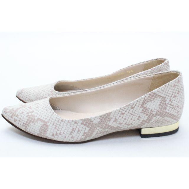 BARCLAY(バークレー)の【専用】83■BARCLAY 本革カッターシューズ(22cm) レディースの靴/シューズ(ハイヒール/パンプス)の商品写真