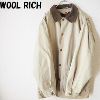 ウールリッチ(WOOLRICH)の【人気】ウールリッチ ライナー付きハンティングジャケット サイズM(ブルゾン)