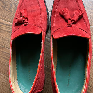 トミーヒルフィガー(TOMMY HILFIGER)のトミーヒルフィガー靴(スリッポン/モカシン)
